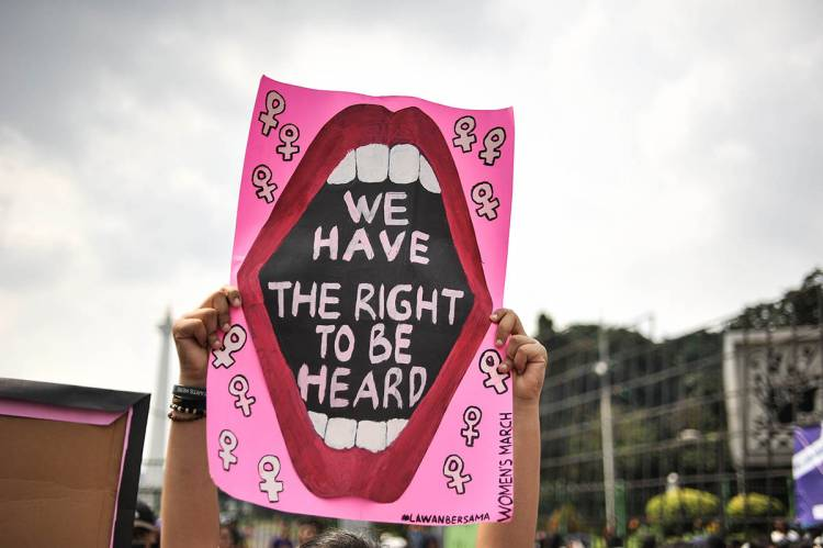 The silent voices of women
